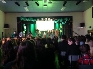 INTER HOUSE MUSIC - SEALE WINNERS OF THE COMPETITION