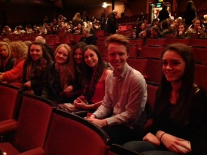 Students at West Side Story