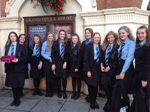 Yr 12 students at Lord of the Flies 3