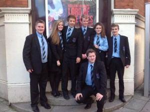 Yr12 studetns at Lord of the Flies 1