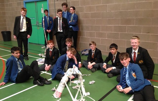 Clounagh Junior High School Uniform: Competitive Fun At Year 11 Induction