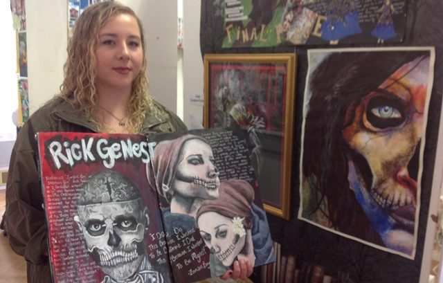 Pc Art Department Showcase Their Gcse As And A Level Work