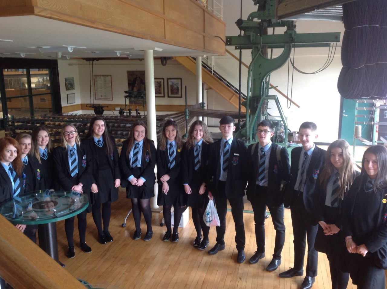 Year 12 Languages Students Visit Ulster Carpet Mills